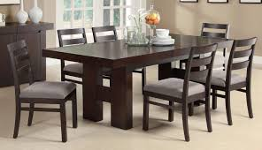 furniture trendy dining ideas coaster willowbrook seven piece