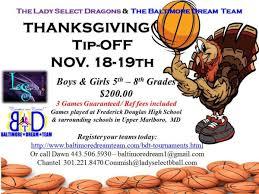 thanksgiving tip basketball tournament baltimore black