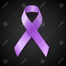 periwinkle ribbon periwinkle ribbon on black background disorder bulimia
