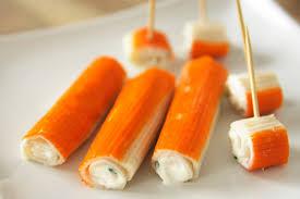 cuisiner le surimi surimi farci roulé cuisine à l ouest