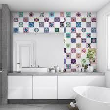 sticker carrelage cuisine stickers carrelages azulejos palmira ambiance sticker com
