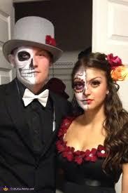 Dia De Los Muertos Costumes Dia De Los Muertos Couple Halloween Costume Photo 2 3