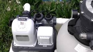 Intex Pool Filters Intex 1600 Gph Sand Filter And Salt Water Filtration System In