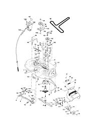 solved how long is a craftsman lt2000 mower deck vbelt fixya