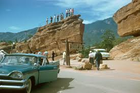Garden Of Rocks by File Garden Of The Gods Park Colorado 1950 U0027s Kodachrome By