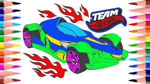 coloring cars team wheels coloring pages for kids painting