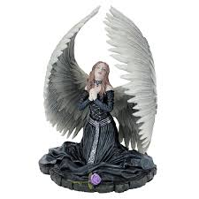 prayer for the fallen angel statue anne stokes gothic fantasy home