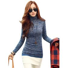 high sweaters 2018 casual sweaters fashion autumn high neck sleeve