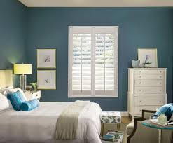 or bow windows half white shutters in family room bay window or bow windows window treatments in bedroom