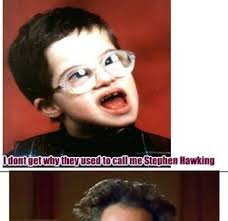 Stephen Meme - stephen hawking as a kid by jdubs12 meme center