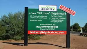 mulberry neighborhood blandford homes in mesa az youtube