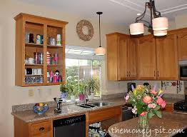 remove kitchen cabinet doors for open shelving tutorial turning cabinets into custom shelves the six fix
