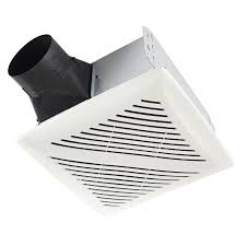 shop broan 2 sone 80 cfm white bathroom fan at lowes com