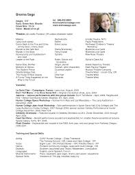 Funny Resume Examples by Acting Resume Sample Resume Badak