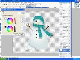 seasonal snowman image heavy a bit beyond beginners