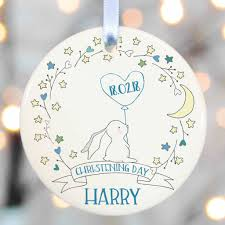 baptism christmas ornament christening gifts boys godparent by christening gifts from