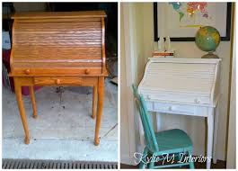 painting a desk white how to paint a wood roll top desk white paints desks and painting