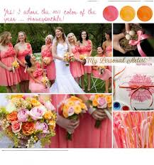best coral colored wedding decorations coral wedding theme ideas