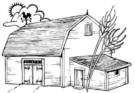 farm coloring pages getcoloringpages