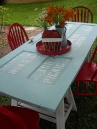 20 simple and creative ideas of how to reuse old doors picnic