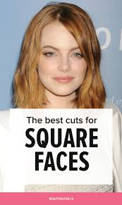 hairstyles for angular faces the best cuts for straight hair and square faces beautyeditor