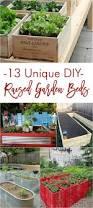 13 unique diy raised garden bed ideas gardening viral