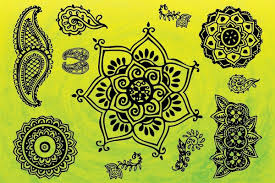 indian ornaments vector topvectors