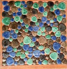 online get cheap bathroom floor green pebble tiles aliexpress com