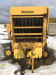 vermeer super j round baler farm equipment in stettler townpost