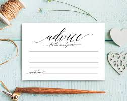 marriage advice cards for wedding wedding advice cards advice cards marriage advice advice