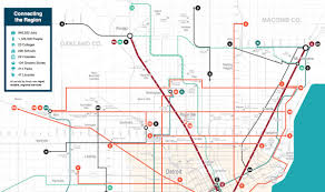 Metro Detroit Map by Detroit U0027s Multibillion Dollar Transit Plan Comes To A Halt U2013 Next City