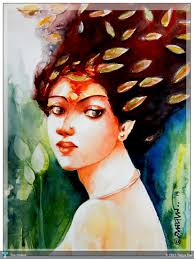 water color painting in painting by tapos das watercolor