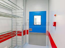 swing doors of phenolic resin clean rooms engineering ingelyt