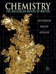 chemistry the molecular nature of matter 6th ed jespersen