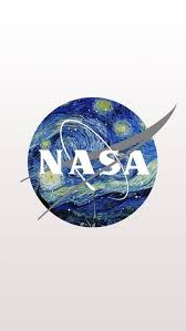 android wallpaper van gogh nasa logo mixed with starry night by van gogh iphone android