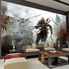 view wall mural assassins creed photo wallpaper hd living
