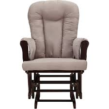 Rocking Chair Vs Glider Baby Relax Glider Rocker And Ottoman Espresso With Chocolate