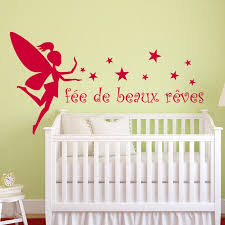 stickers chambre bébé fille fée stickers fées pour la décoration des pièces dédiées à vos enfants