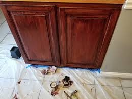 how to get smoke stains cabinets i really the way my stained cabinets turned out need