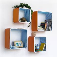 floating shelves for eye catching wall decor