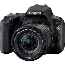 canon eos 200d schwarz 18 55mm 1 4 5 6 is stm objektiv schwarz