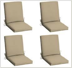 Patio Chair Cushions Set Of 4 Cheap Patio Chair Cushions Patios Home Decorating Ideas