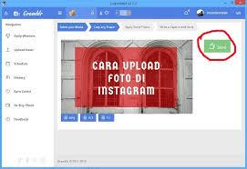 cara membuat instagram baru di komputer cara upload foto di instagram lewat pc komputer terbaru