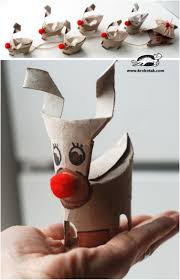 20 festive diy christmas crafts from toilet paper rolls toilet