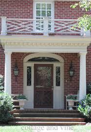 interior inspiring front porch portico decorating design ideas