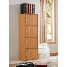 Oak Bookcases With Drawers Oak Bookcases Home Office Furniture The Home Depot