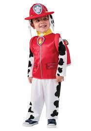 kids marshall paw patrol dalmation tv cartoon fancy dress