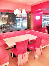 Barbie Dining Room Table Seating At Barbie Cafe Taiwan By Myfunfoodiary