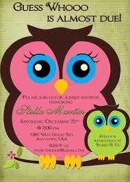 owl invitations for baby shower reduxsquad