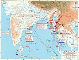 South East Asia Map by The British Empire In Asia